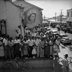 JAMAICA. Queen Elizabeth II on Tour. 1953.