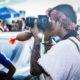 Fotógrafo do povo Guarani Kaiowá / MS, registrando momentos do ATL