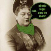 Figura 1. Fotografía de Clorinda Matto de Turner, intervenida por el Comando Plath.