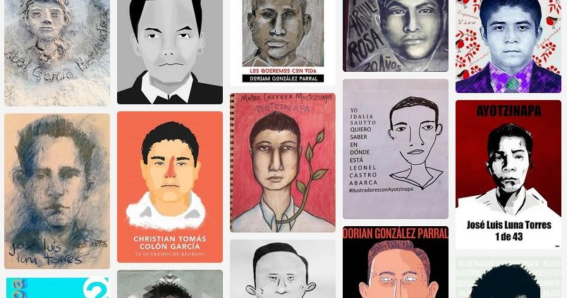 https://ilustradoresconayotzinapa.tumblr.com