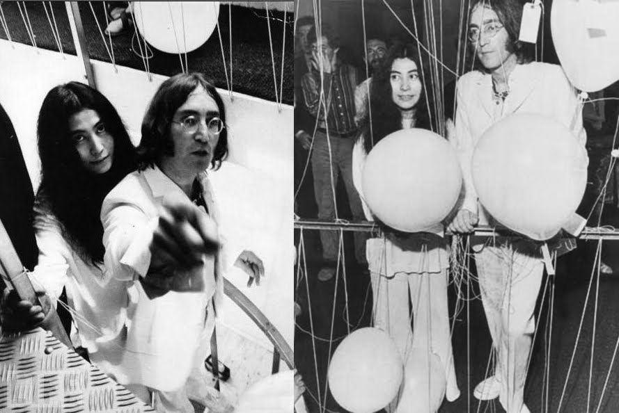 You are here Lennon Ono (1)
