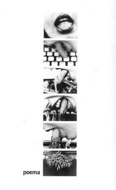 """""""Poema"""", de la revista Zero à esquerda, 1981"""