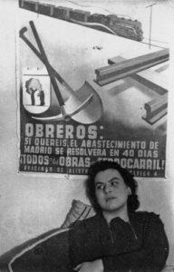 Muriel Rukeyser en España, 1936. S/d del autor.
