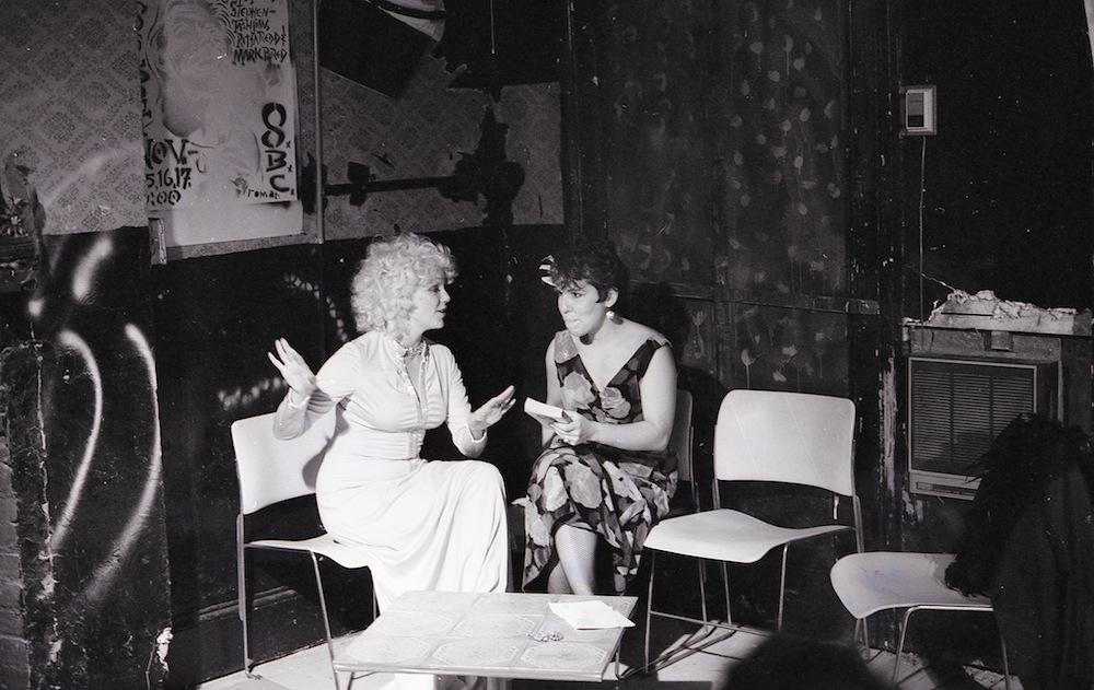 CarmelitaTropicana y Lois Weaver, 1986. Sin datos del autor