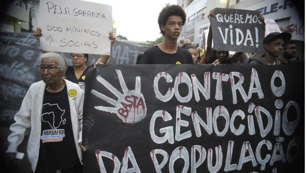 Genocidio negro