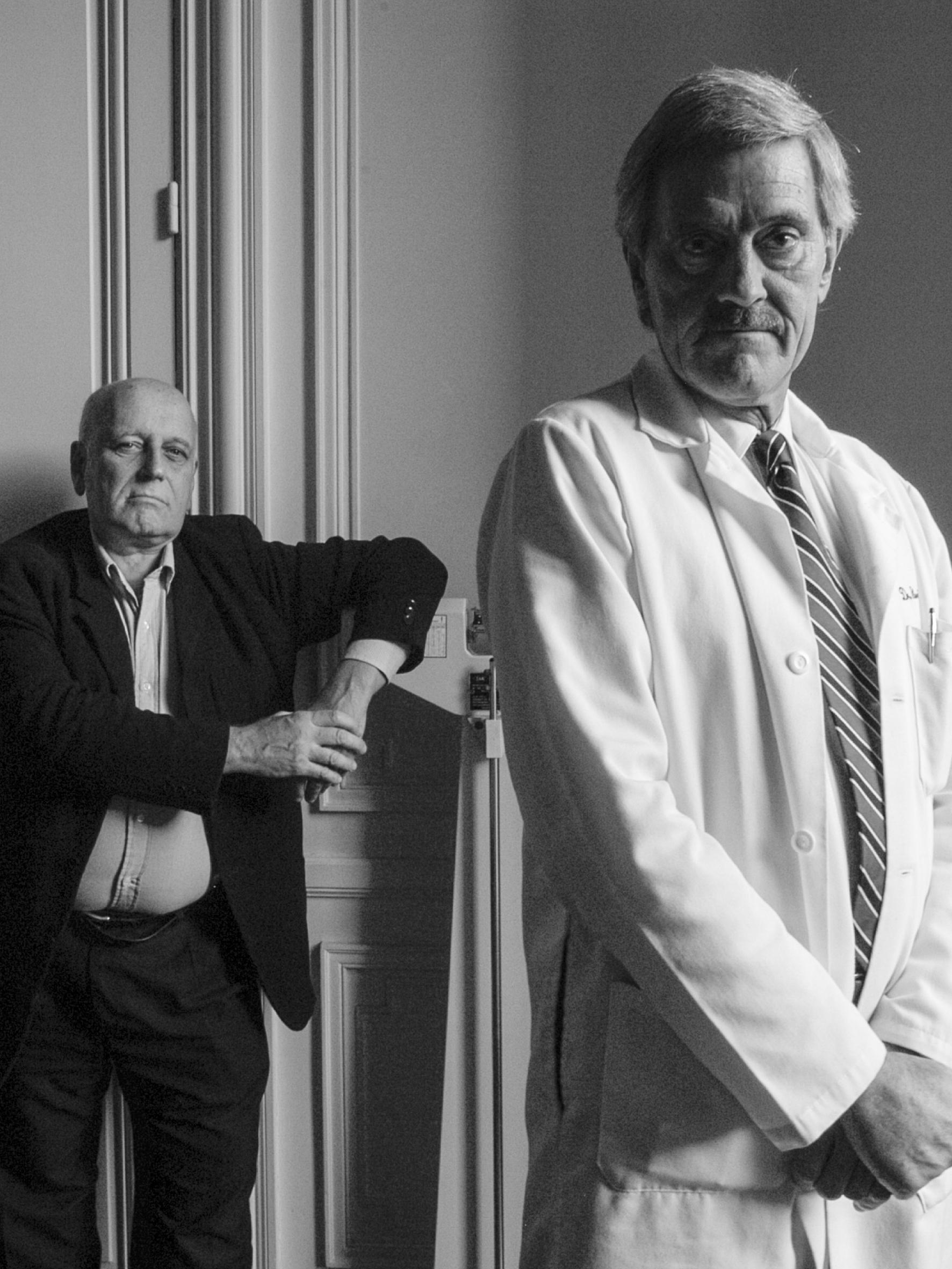 """Obra: """"Cozarinsky y su médico"""" (2005)"""