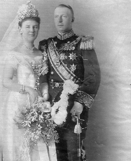 Figura 2. Boda de Wilhelmina, reina de los Países Bajos, con Enrique Mecklenburg-Schwerin, 1901.