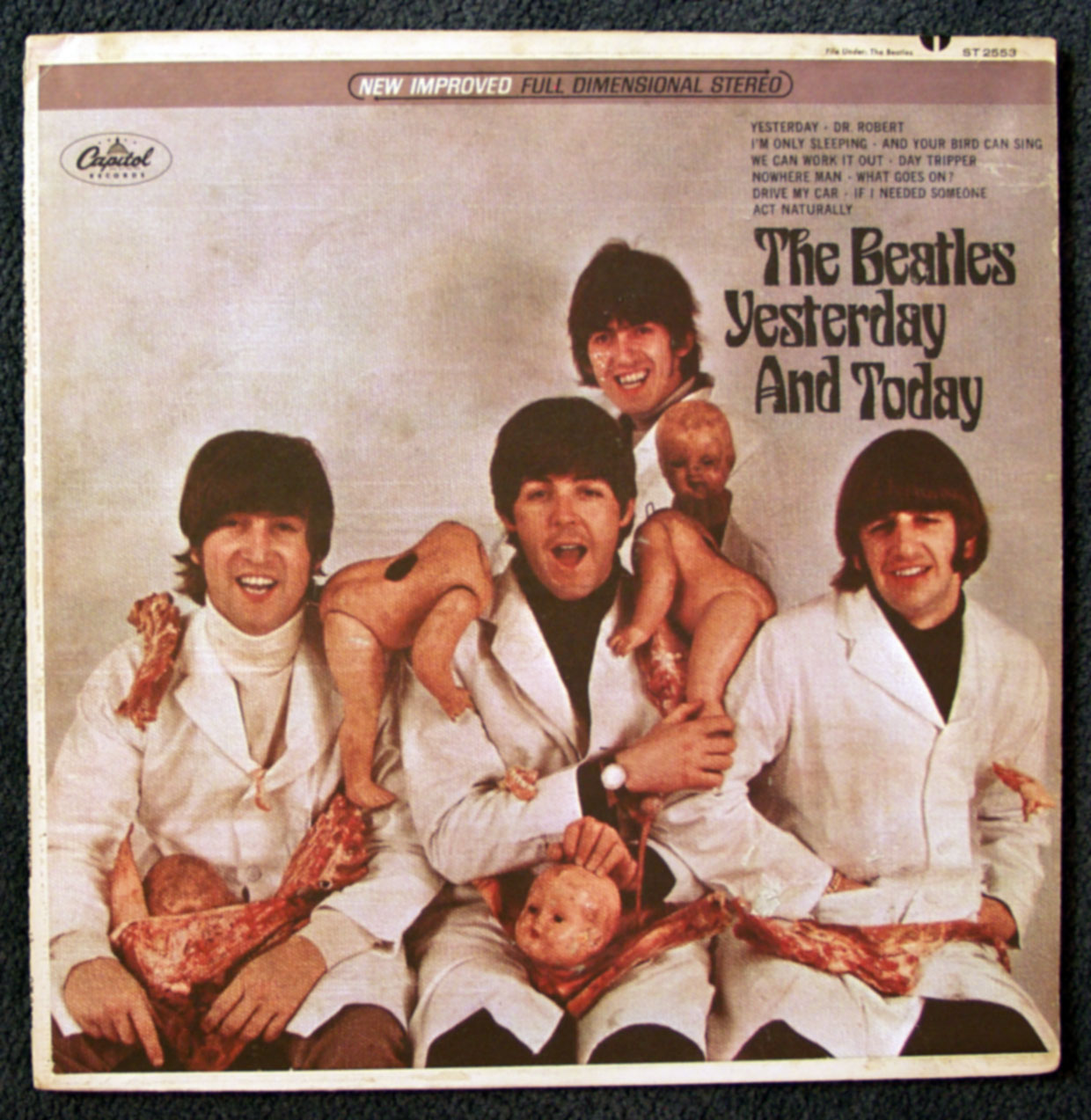 todayandyesterday butcher cover Beatles (1)