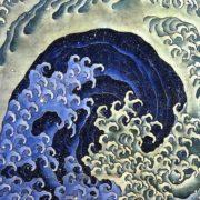 Katsushika Hokusai - Feminine Wave