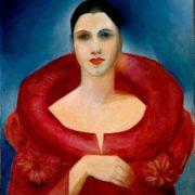 Tarsila do amaral - Autorretrato en rojo (1923).jpg (Mejor calidad)