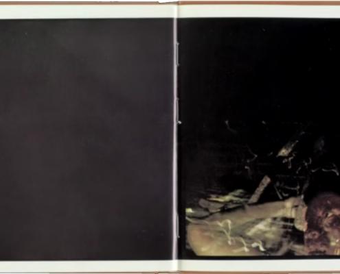 Página desplegada del libro Amazonía (1978). Extraído de la Revista Zum.
