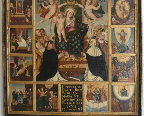 Arimura Figura 2. Los quince misterios del Rosario