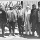 Colonel Roosevelt and Dr. Moreno with Four Argentine Indians