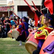 La agrupación RKMD en el Okinawa Matsuri de 2014. Crédito: Archivo RKMD