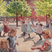 playing-children-enghave-square-peter-hansen